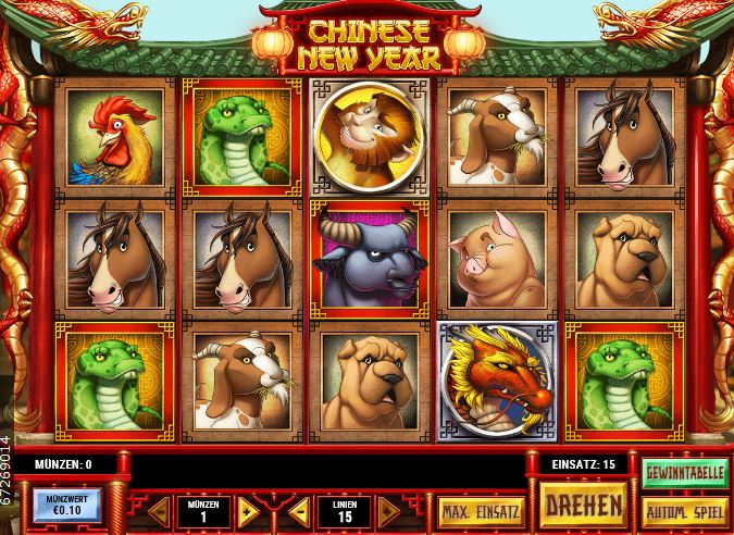 Chinese New Year Slot Playn GO